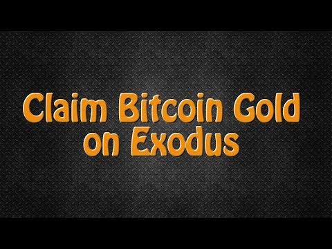 Claim Bitcoin Gold On Exodus! Plus 11 New Assets!