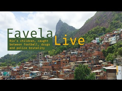 FavelaLive. Rio's Children, caught between football, drugs a