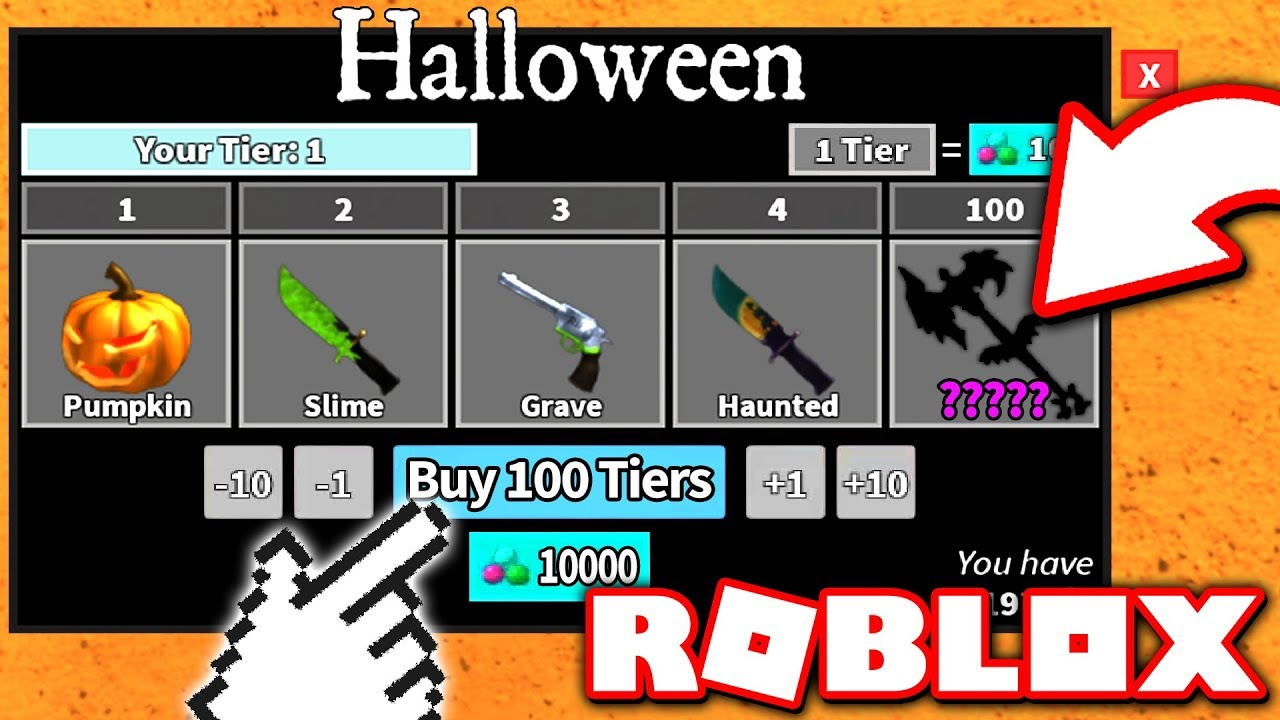 Roblox Murderer Mystery 2 Code List Roblox Murder Mystery Halloween 2019 Robux Free No Survey Or Offers Or Human