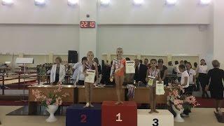 22 октября 2016. Соревнования в Краснодаре. Финал на бревне!