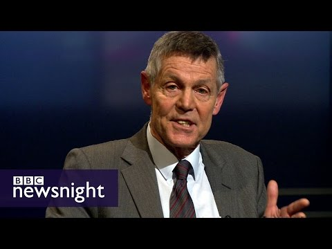 'For me that isn't enough': Matthew Parris makes case against airstrikes on ISIS - Newsnight