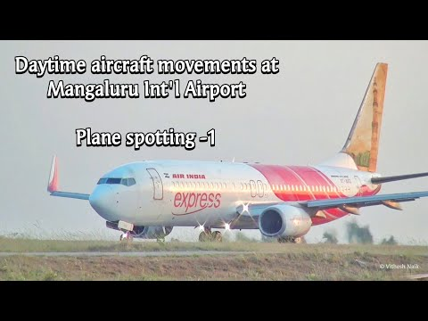 Daytime aircraft movements at Mangaluru International Airport - An overview