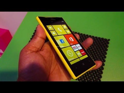 Nokia Lumia 720 Review full HD Hands on