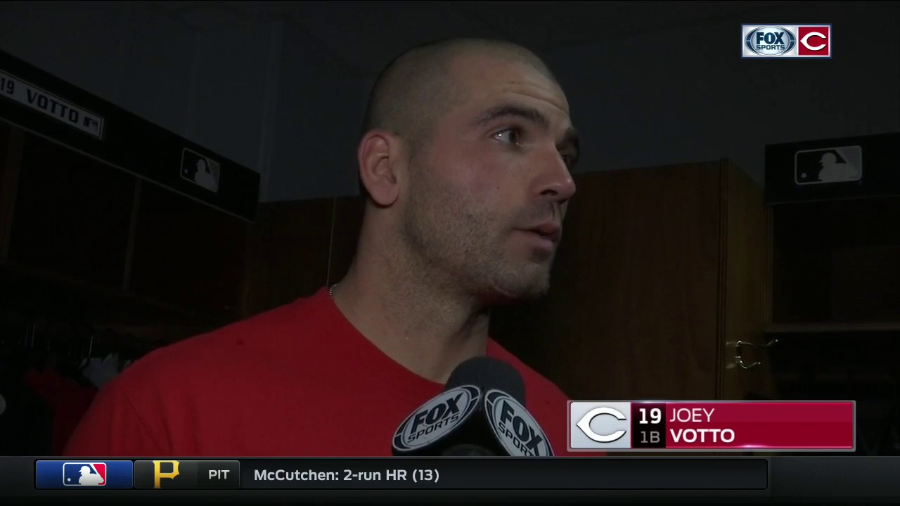Joey Votto provides an interesting quote about the Reds ...