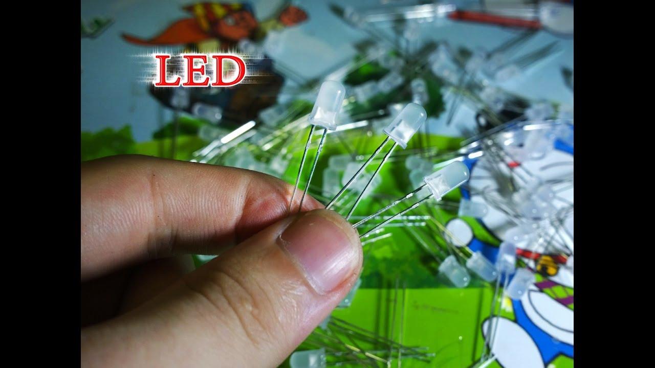 Chế dàn đèn LED 12v siêu sáng không dùng điện trở