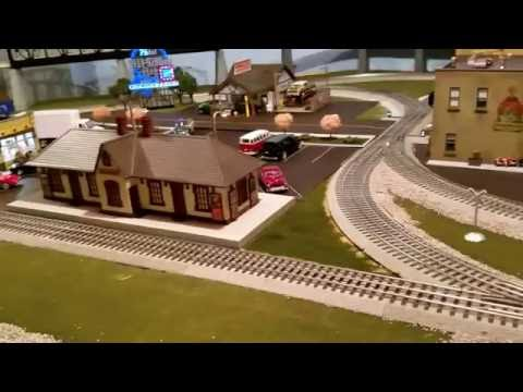 Adam's O gauge train layout progress and product review
