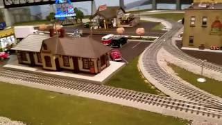 adam s o gauge train layout progress and product review