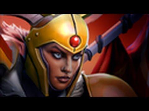 видео: Обзор на героя - legion commander