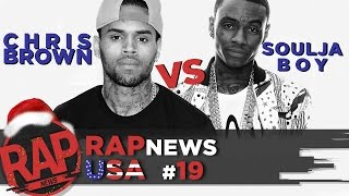 Биф Chris Brown & Soulja Boy, драка Snoop Dogg, Onyx ft. Dope D.O.D., Azealia Banks; #RapNews USA 19