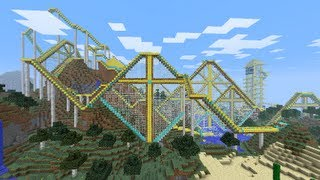 Best Minecraft Roller Coaster Ever!