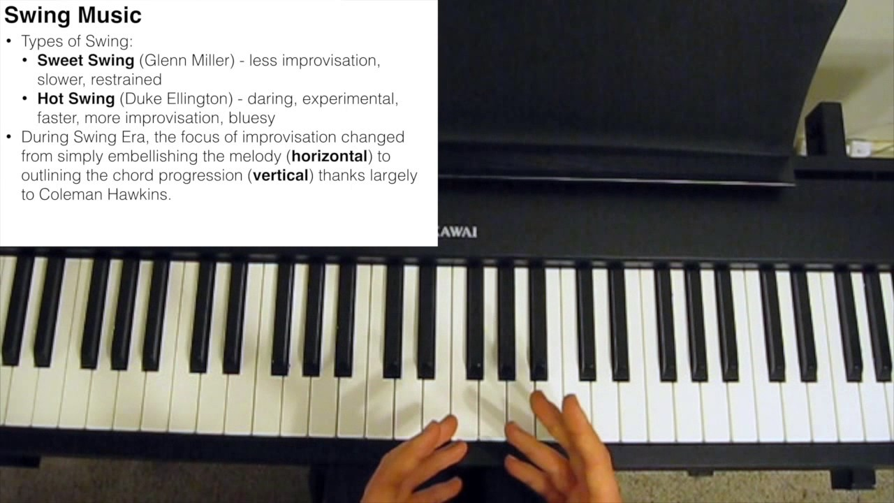 Swing Music Explained - The Jazz Piano Site