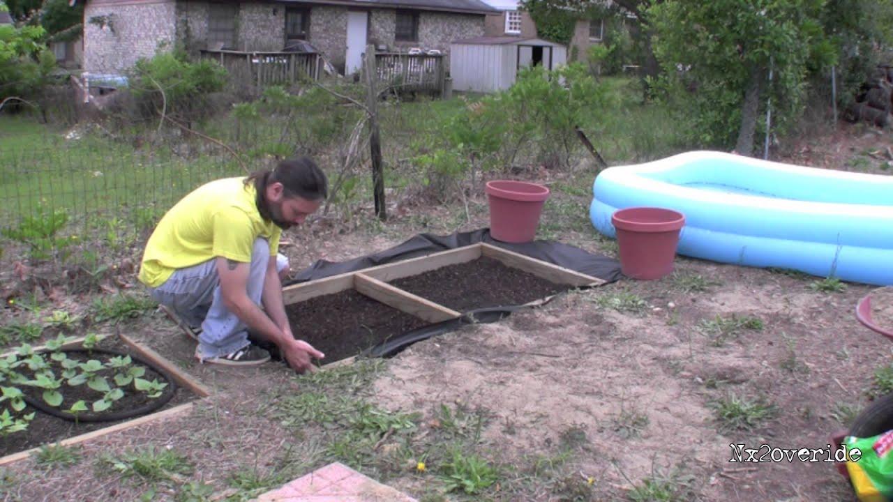 small cheap garden boxes diy youtube - Garden Boxes Diy