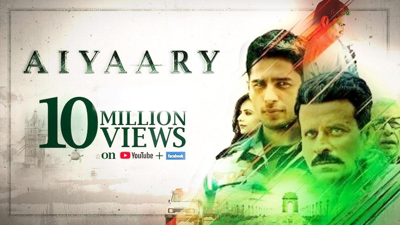 Aiyaary Full Movie 2018 Sidharth Malhotra Manoj Bajpayee Trailer Event