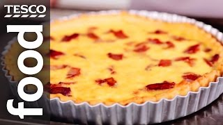 How To Make An Easy Quiche Lorraine | Tesco Food
