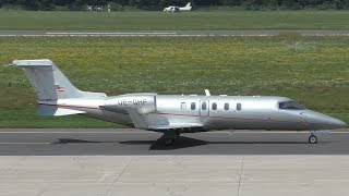 dieflugschule.at Learjet 40XR takeoff at Graz Airport | OE-GHF