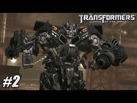 Transformers Dark of the Moon - Xbox 360 / PS3 Gameplay Playthrough - Chapter II PART 2