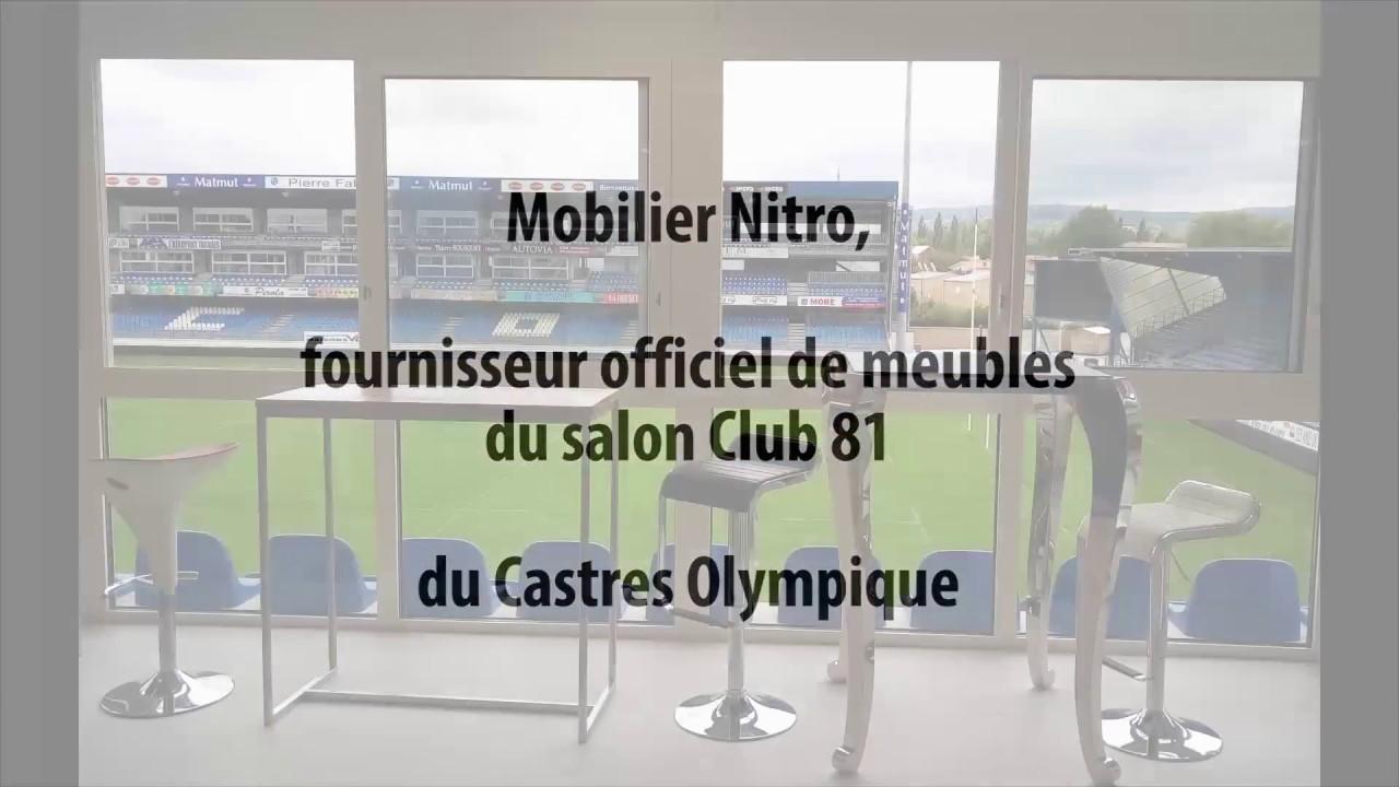 Nitro Mobilier mobilier nitro, fournisseur officiel de meubles du club 81 du