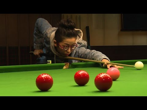 Look out men! Asia's snooker number one Ng takes aim