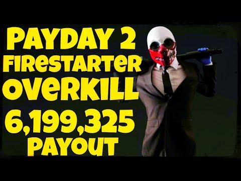 Payday 2 Firestarter