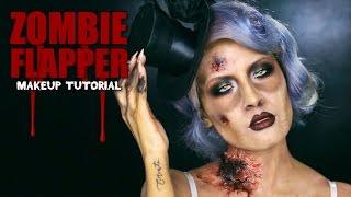 Zombie Flapper Makeup Thumbnail