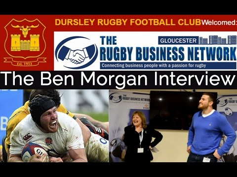 Ben Morgan Interview - England Rugby's World Cup No 8