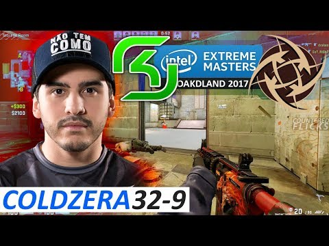 coldzera 32-9 / SK vs NiP / IEM Oakland 2017 - Semi-finals