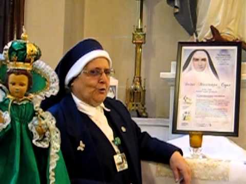 Sr. Mary Irene on St. Marianne Cope and Holy Cards