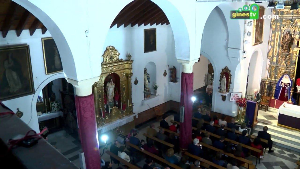 XXXV Exaltación de la Semana Santa de Gines, a cargo de Alfonso Melo Márquez (COMPLETO)