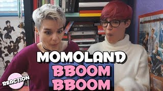 MOMOLAND (모모랜드) - BBOOM BBOOM (뿜뿜) ★ MV REACTION