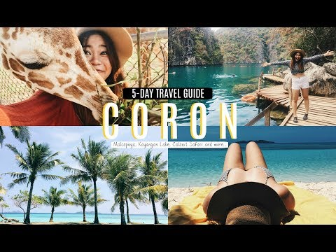 Most Beautiful Island in the Philippines (Coron, Palawan) 5-DAY GUIDE | ALY MEETS WORLD