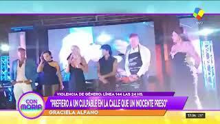 Graciela Alfano defendió a Darthés: