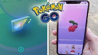 ¿¡Qué SALE de un MÓDULO CEBO MUSGOSO!? CAPTURO y REGISTRO a CHERUBI en Pokémon GO! [Keibron]
