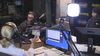 Tom Kenny the Voice of SpongeBob In-Studio PT1
