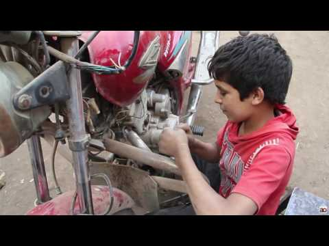 Egyptian child labor: Missing classrooms for workshops
