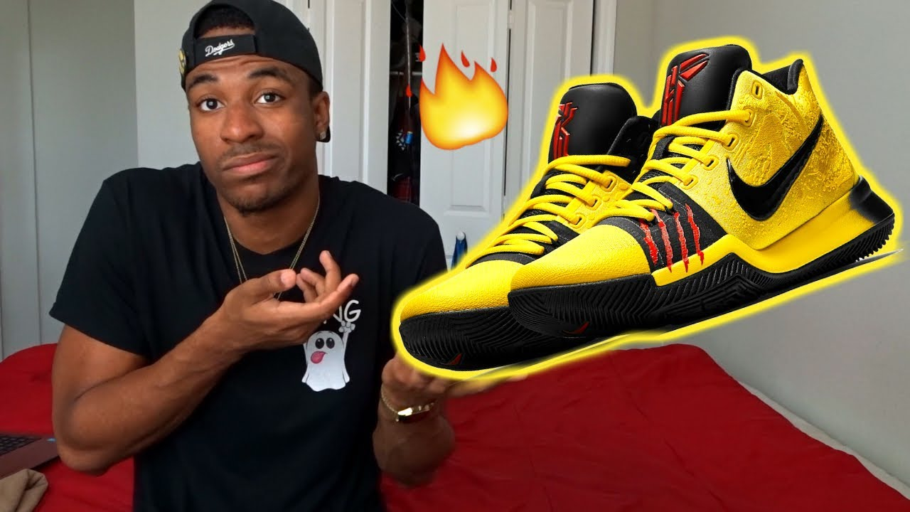 807b0f1e325 THE BEST NIKE RELEASE THIS YEAR 2017  NIKE KYRIE 3 BRUCE LEE - YouTube