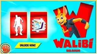 * NEW * Fortnite x Walibi Belgium!! * FREE * Items & Rewards In SEASON X!!
