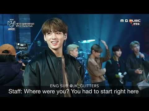 [ENG SUB]BTS X Charlie Puth Behind the scene from MGA (MBC Plus X Genie Music Awards 2018) Mp3