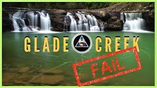 New River Gorge: Węst Virginia Hiking, Camping ,Glade Creek Trail