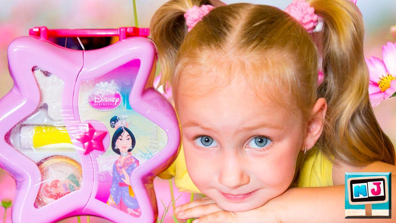 Детские косметики для девочек видео