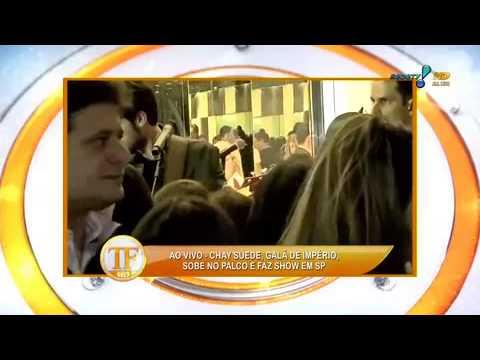 TV Fama 07/08/2014 - TV Fama Mostra Flagra De Show De Chay Suede