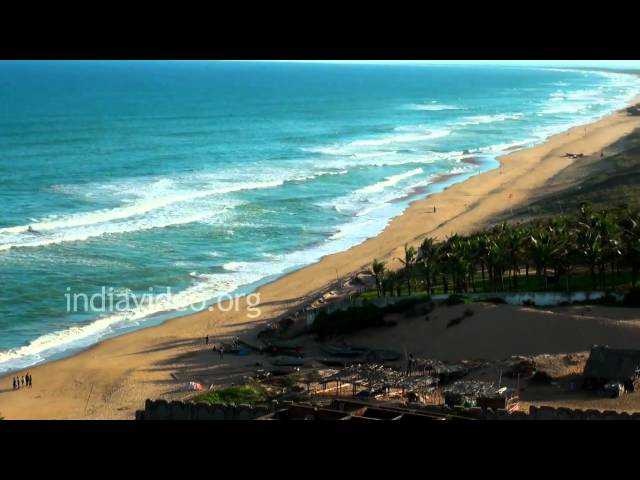 View from Gopalpur Lighthouse  Orissa