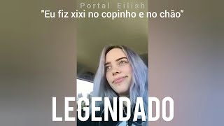 Billie Eilish - A HISTÓRIA DO EXAME DE URINA [Legendado]