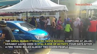 Public still gravitating to Keramat tahfiz school 4 days after tragedy