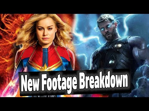 Captain Marvel Box Office Report & NEW Avengers Endgame Footage