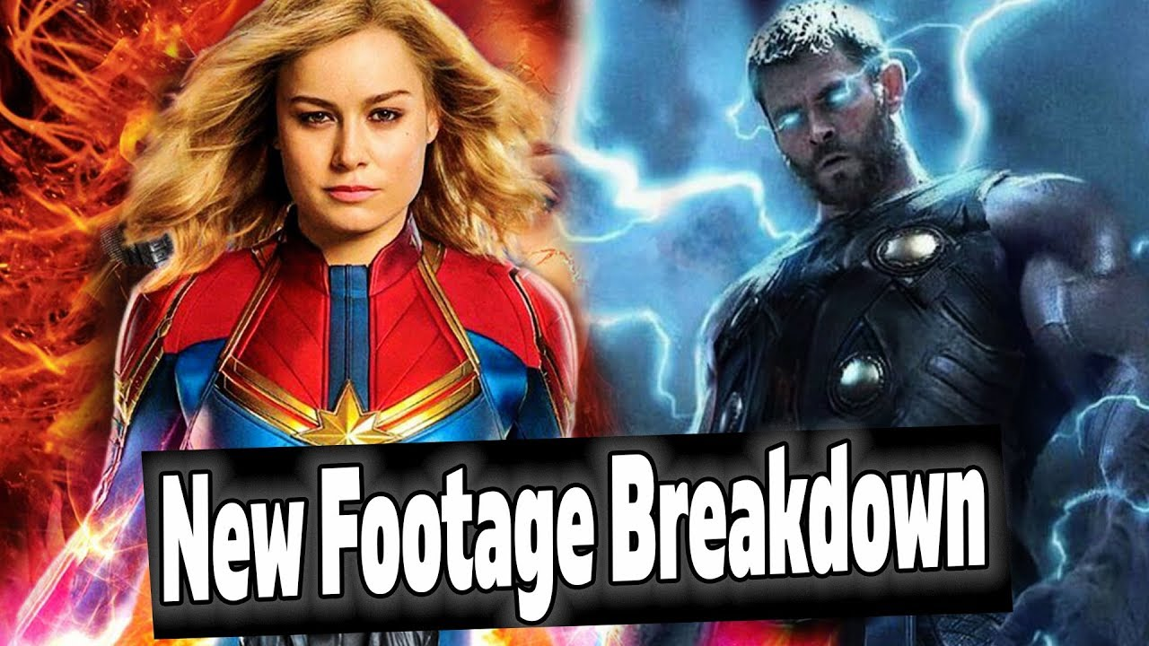 Captain Marvel Box Office Report New Avengers Endgame Footage