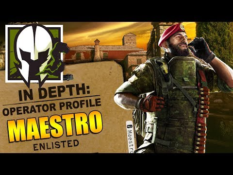 Rainbow Six Siege  In Depth:  How to Play MAESTRO  Operator Profile