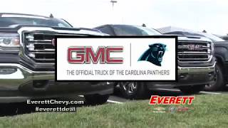 GMC - Official Truck of the Carolina Panthers | Everett Chevrolet Buick GMC Cadillac