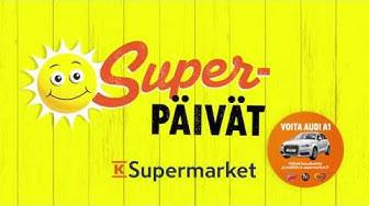 K-Supermarket Superpäivien tarjoukset 4.-6.9.2017
