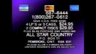 All Star Country Commercial [1988]