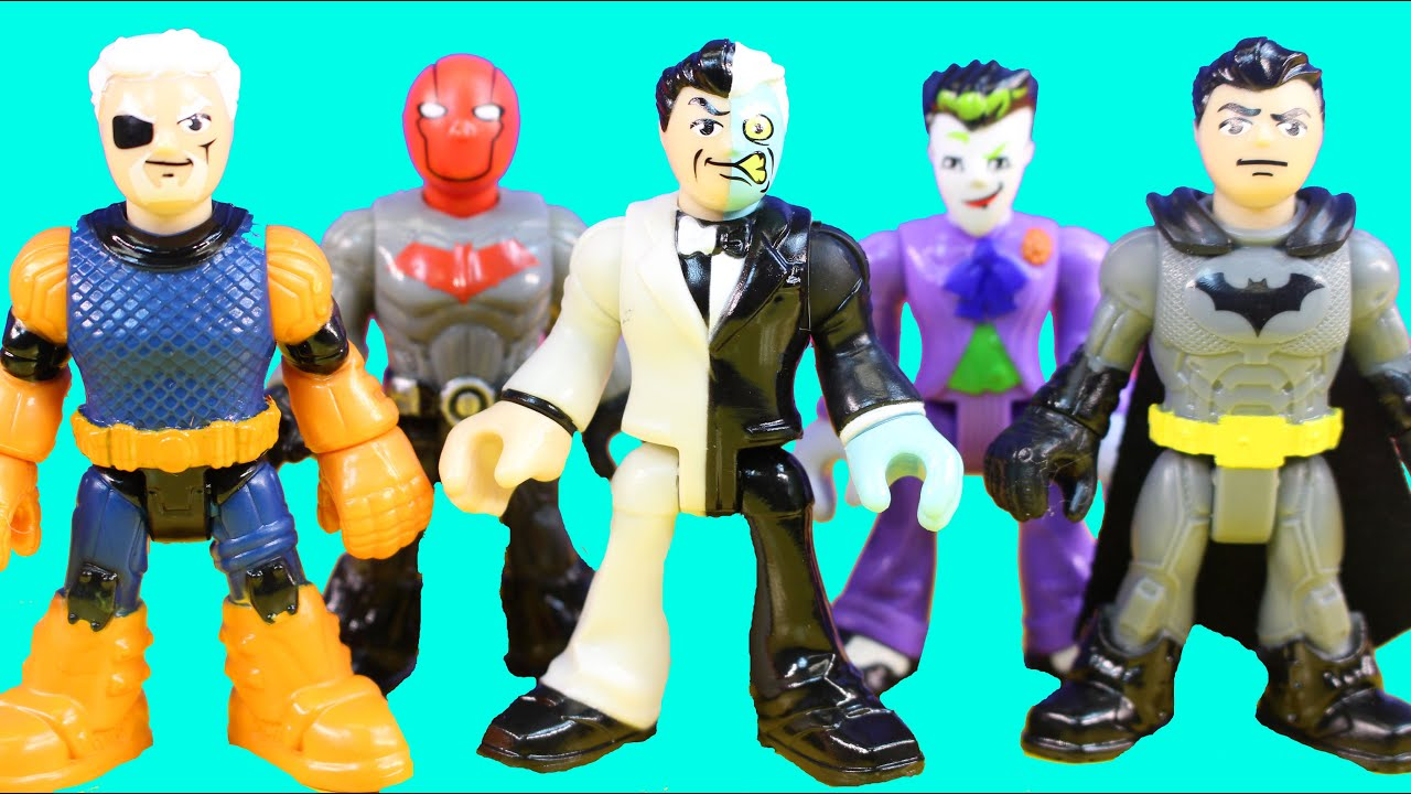 Imaginext Dc Superfriends Series 1 Mystery Blind Bag